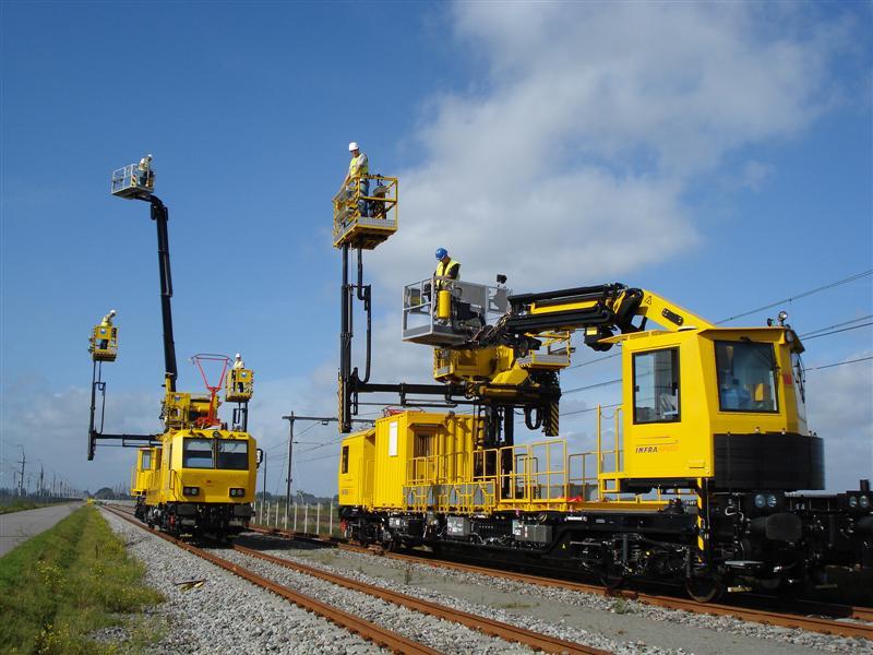 infraspeed spoorwerkzaamheden